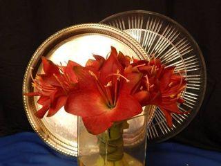 Two Trays   Vase