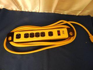 Master Electrician Heavy Duty Power Strip