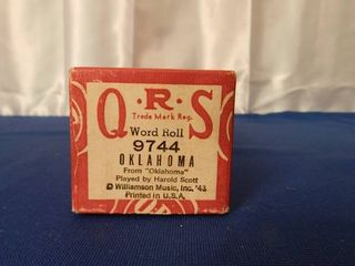 QRS Player Piano Roll  Oklahoma