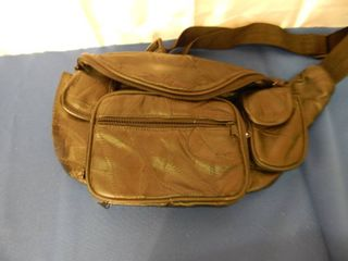 Nice leather Fanny Pack Purse