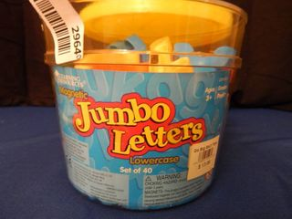 Jumbo Magnetic letters