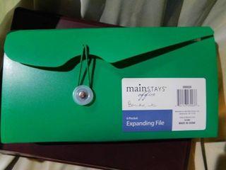 Plastic Storage Box   Expanding File
