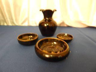 Japanese Trinket Bowls   Salt Pepper Set