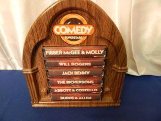 Vintage Comedy Cassettes  Burns   Allen  Abbot   Costello   More