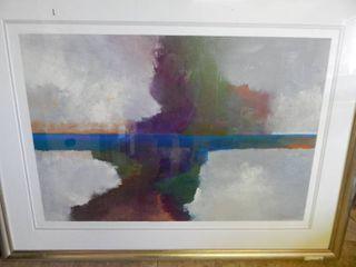 50 x 37  Framed Emerson Print
