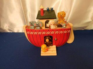 Enesco Noahs Ark Musical Decor