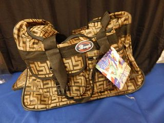 Bovano Rolling Duffle Bag   NEW