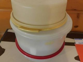 Tupperware Containers  3 ea