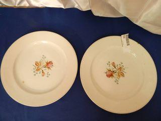 Fenton Plates  2 ea