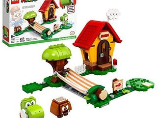 lEGO Super Mario Marios House   Yoshi Expansion Set 71367 Building Kit  Collectible Toy to Combine with The Super Mario Adventures with Mario Starter Course  71360  Set  New 2020  205 Pieces