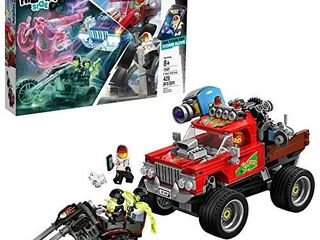 lEGO Hidden Side El Fuegos Stunt Truck 70421 Building Kit  Ghost Playset for 8  Year Old Boys and Girls  Interactive Augmented Reality Playset  428 Pieces
