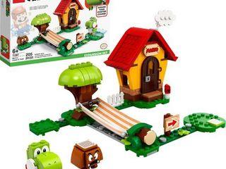 lEGO Super Mario Mario s House   Yoshi Expansion Set Collectible Toy for Creative Kids 71367
