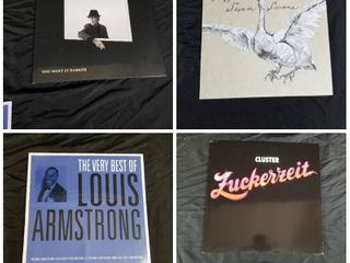 GROUP OF 4 RECORD AlBUMS
