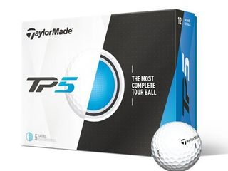 TaylorMade TP5 Golf Balls  Prior Generation  12 Pack