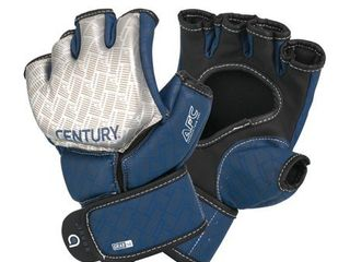 BRAVE MMA COMPETITION GlOVE   SIlVER NAVY