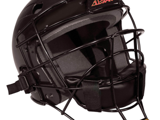 All Star league Series Youth Tee Ball Catcher s Helmet   Black