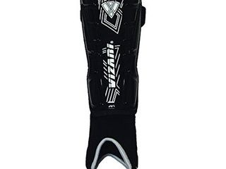 Vizari Malaga Shin Guard  Black White  X Small
