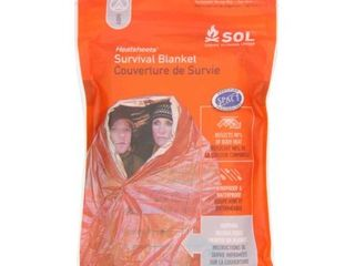 Adventure Medical Kits Sol Survival Blanket  Two Person  3 2 Ounce