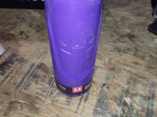 Under Armour Sideline 32 Ounce Squeezable Bottle  Purple