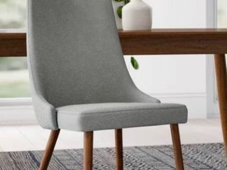 Blaise Upholstered Dining Chair RETAIl  115 MISSING lEG AS IS