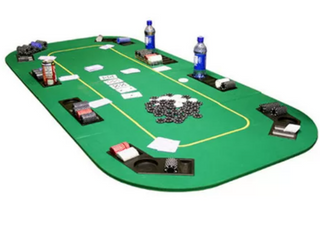 Texas Hold em Folding Poker Table Cover
