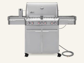 New in the Box SUMMITAr S 470 GAS GRIll  NATURAl GAS   2 149 Retail  Natural gas to propane converter not included