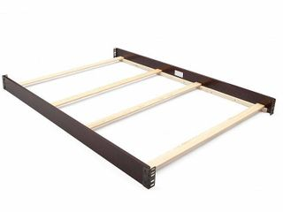 Delta Children Wooden Full Size Bed Rails 0050  Dark Chocolate