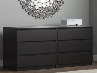 Kepner 6 Drawer Double Dresser   327 00 Retail