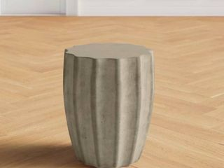Joss   Main Abstract End Table RETAIl  269 Top Chipped