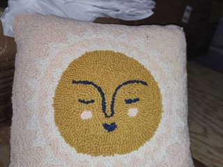 Sun Wool Throw Pillow