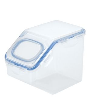Set of 2   lock n lock Easy Essentials 10 6 Cup Food Storage Container with Flip lid