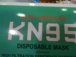 Box of KN95 Non Medical Self Priming Filter Protection Respirators