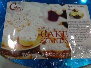Cake Bon Disposable Cake Stand