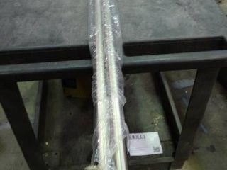 Pair of Metal Curtain Rods with Mounting Hardware