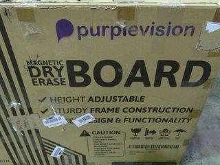Purplevision 48x36 Dry Erase Whiteboard