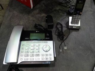 AT T  line Corded Cordless Answering System