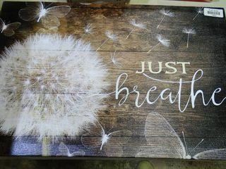 Just Breathe  Decor
