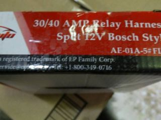 30 40 amp Relay Harness