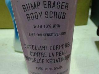KP Bump Eraser body Scrub  Aloe Vera lotion and lysol Multi Purpose Cleaner