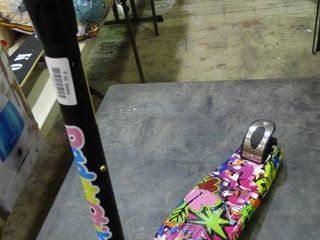 Very Colorful 3 Wheel Scooter
