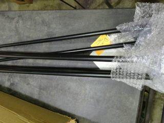 Pair of Metal Hairpin Table legs