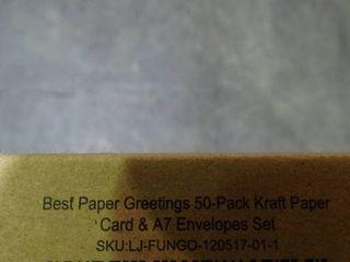 lot of Kraft Paper