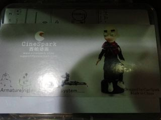 CineSpark Diy Studio Stop Motion Armature Kit