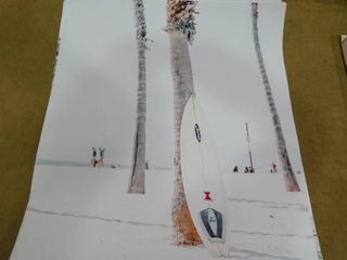 lot of Beach Theme Wall Art