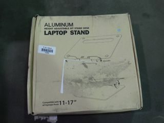 Aluminum Height Adjustable Sit Stand Desk laptop Stand