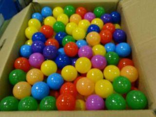 Box of Colorful Balls