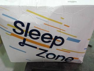 SlEEP ZONE Athlete Grade Mattress Pad Cover Cooling Overfilled Soft Fluffy Ergonomic Topper  light Pink  King