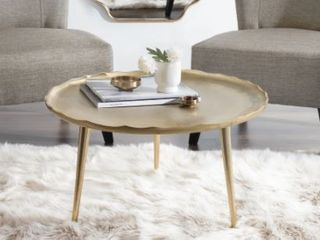 Kate and laurel Alessia Round Coffee Table  Retail 169 99