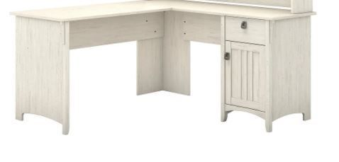 The Gray Barn Ermine 60 inch l shaped Desk  Retail 449 98