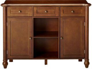 Kings Brand Furniture Wood Sideboard Buffet Cabinet Console Table  Walnut